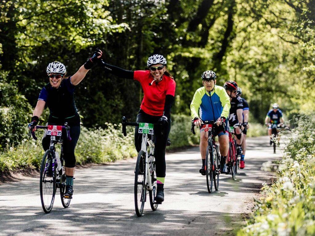 Woodland cycling